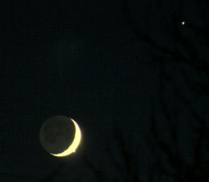 Occultation of Venus on December 1st 2008 at 17:15 UT, Ash Priors, Somerset, UK